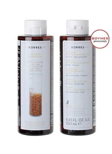 Korres Korres Rice Proteins & Linden Şampuan 250ml Renksiz